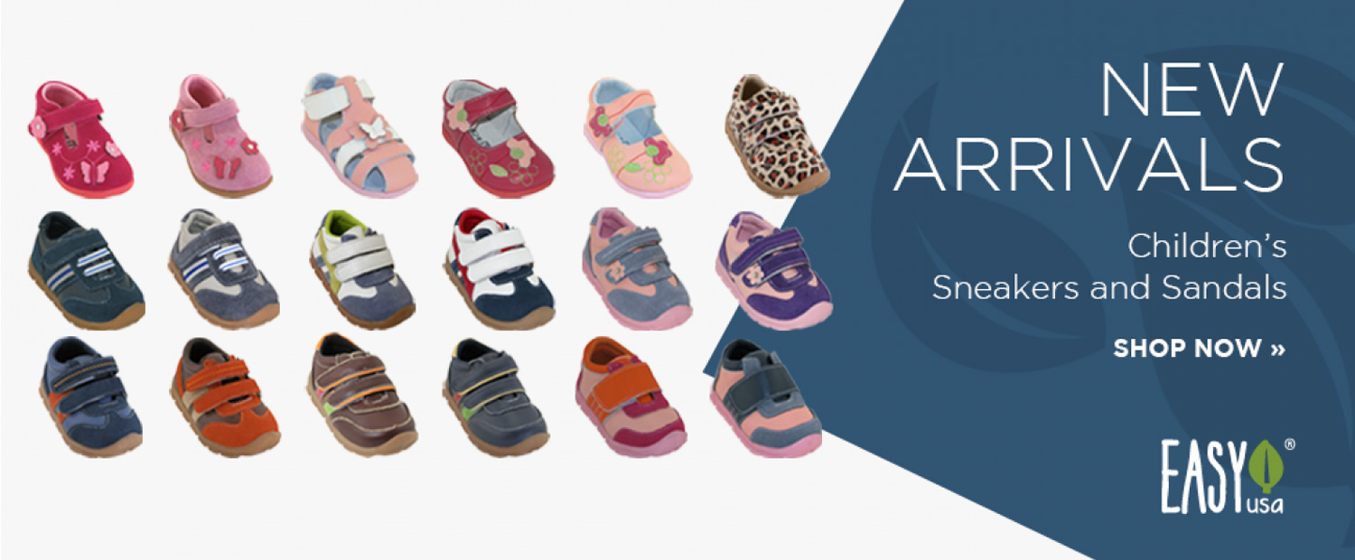 New Arrivals: Children's Sneakers and Sandals