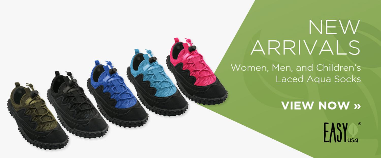 New Arrivals: Laced Aqua Socks