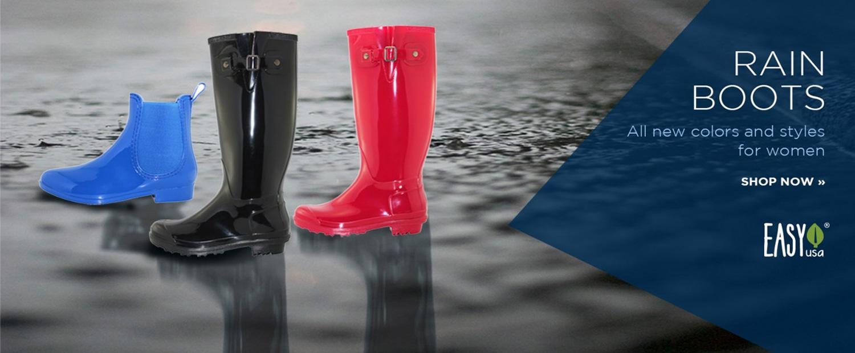 New Arrivals: Women's Rain Boots
