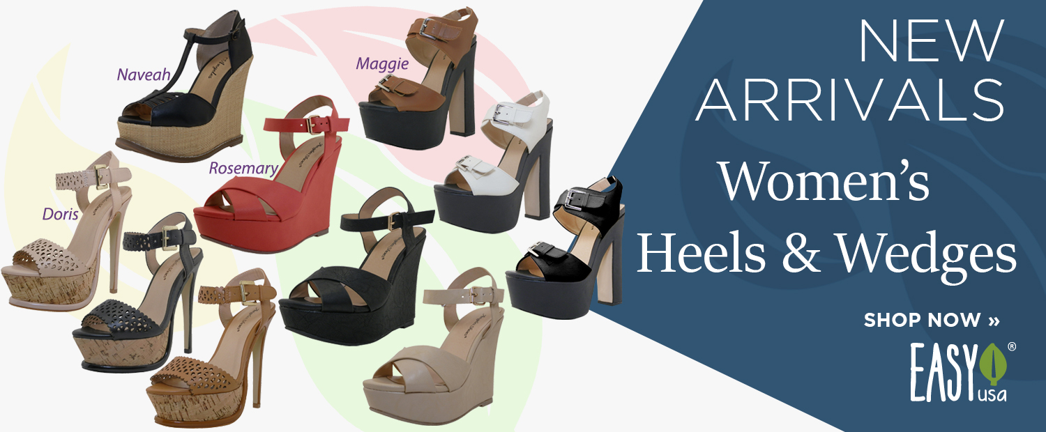 New Arrival Women's Heels & Wedges