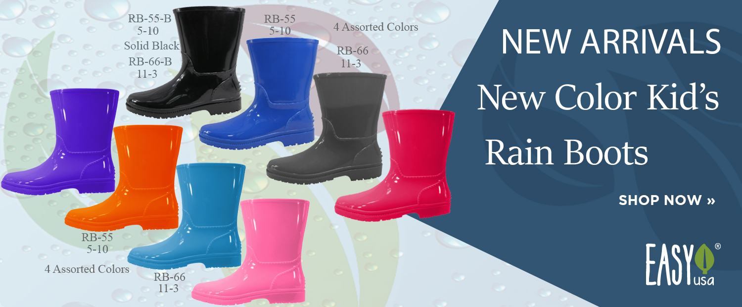 "New Arrival ""New Color Kids Rain Boots"""