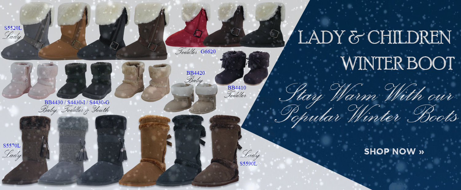 Snow & Cold Stay Warm With Our Popular Winter Boots