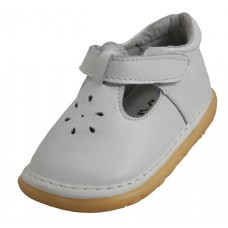 BB2630- Wholesale Baby Velcro Leather Shoes ( *White Only) *Last 2 Case