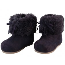 BB4410 - Wholesale Baby's Faux Fur Cuff Winter Boots ( *Dark Purple )