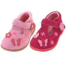 BB7001 - Wholesale Infant's 3D Leather Sandal ( *Asst. Red And Pink ) *Last 3 Case