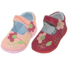 BB7002 - Wholesale Infant's 3D Leather Upper Sandal ( *Asst. Red And Pink ) *Last 2 Case