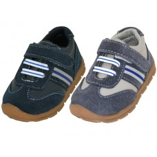 BB7005 - Wholesale Toddlers Leather Single Velcro Sneakers