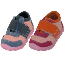 BB7007 - Wholesale Toddlers Leather Upper Velcro Sneakers ( *Asst. Color ) *Last 2 Case