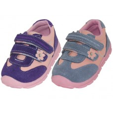 BB7008 - Wholesale Toddlers Leather Double Velcro Sneakers