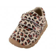 BB7011 - Wholesale Toddlers Leopard Printed Velcro Upper Sneakers ( *Leopard Print )