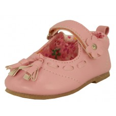 BB9008 - Wholesale Baby's Leather Mary Janes Shoe W/Tassels ( *Pink Only )