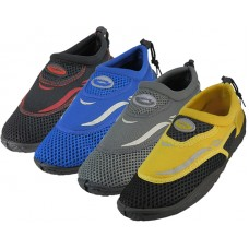 "G1182-Y - Wholesale Boy's ""Wave"" Water Shoes ( *Asst. 4 Color )"