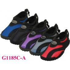 """G1185C-A - Wholesale Children's """"Wave"""" Water Shoes ( *Asst. 5 Color )"""
