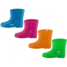 RB-33 - Wholesale EasyUSA Toddler's Rubber Rain Boots ( *Asst. Neon Color )