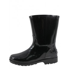 RB-55-BB Wholesael EasyUSA Children's Rubber Rain Boot ( *Black Only ) *Last Case