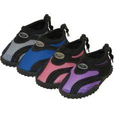 "S1185-I-A Children's ""Wave"" Water Shoes ( 4 Asst. Color )"