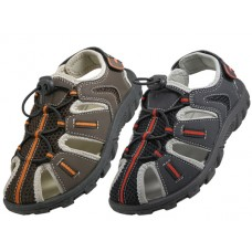 S2600-Y - Wholesale Youth's Hiker Sport Sandals ( *Asst. Black And Brown )