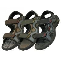 S2900-B - Wholesale Boys' Velcro Strap Sandals ( *Asst. Black Olive & Brown )