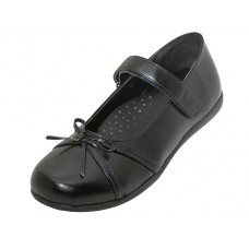 "S5004-G - Wholesale Big Girls ""EasyUSA"" Mary Jane Black School Shoes ( *Black Color )"