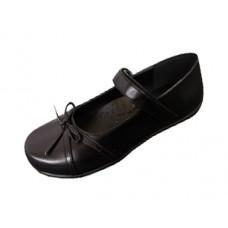 S5004-GN - Wholesale Big Girls Mary Janes Black School Shoe ( *Black Color )