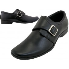 S5006-B Wholesale Big Boy's Dress Shoe & School Shoe ( *Black Color )