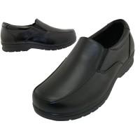 """S5007-B - Wholesale Boy's """"EasyUSA"""" Slip on Dress Shoes & School Shoes ( *Black Color )"""