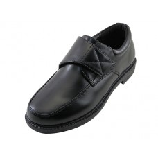S5008-B - Wholesale Boy's Slip on Dress Shoes & School Shoe ( *Black Color )