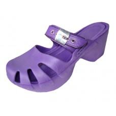 S5800G-Purple Wholesale Girls' Wedge Clog Sandals ( *Purple Color )