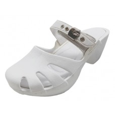 S5800G-W wholesale Girl's Wedge clog sandals ( *White Color )