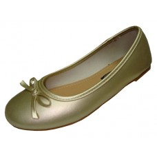"S8300C-G Wholesale Youth's ""EasyUSA"" Comfortable Ballet Flat ( *Gold Color )"