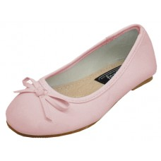 S8300-I-P Wholesale Children's Ballerina Flat Shoe ( *Pink Color ) *Last Case
