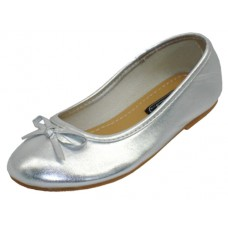 S8300-I-S Wholesale Children's Ballerina Shoes ( *Silver Color )