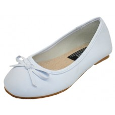 S8300-I-W wholesale Children's Ballerina Shoes ( *White Color )