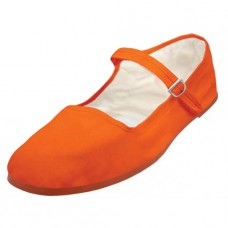 "T2-114C-A Wholesale Youth's ""EasyUSA"" Cotton Upper Classic Mary Jane Shoes ( *Orange Color )"