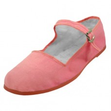 "T2-114C-P Wholesale Youth's ""EasyUSA""  Cotton Upper Classic Mary Jane Shoes ( *Pink Color )"