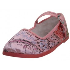 T2-119-I-P wholesale Child's Satin Brocade Upper Mary Janes Shoe ( *Pink Color )