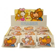 105 - Wholesale Bear Rubber Eraser