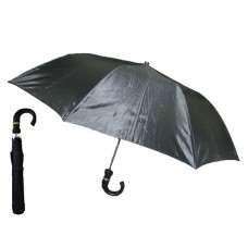 M824 - Wholesale Men's Push Auto Open Cane Umbrella ( *Black Color )