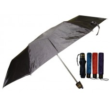 M833-A - Wholesale Women's 37 Inches Supermini Tri-Fold Solid Color Umbrella ( *Asst. Color )