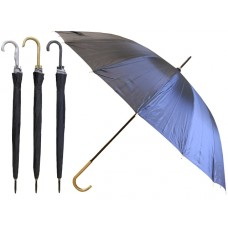 M900-BA - Wholesale 50'' Diameter 16 Ribs Auto Open Jumbo Umbrella ( *Black Only )