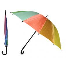 M910 - Wholesale 37 Inches Automatic Cane Rainbow Umbrella