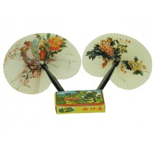 P-417 - Wholesale Plastic Folding Fans ( *Asst. Printed )