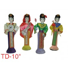 "TD10 - Wholesale 10"" Traditional Chinese Dolls"
