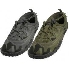 M1165 - Wholesale Men Camouflage Lace Up Water shoes