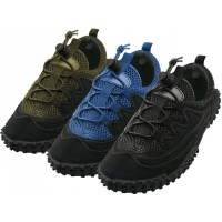 "M1188 - Wholesale Men's Lace Up ""Wave"" Water Shoes ( *Asst. Color )"
