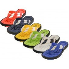 M9912 - Wholesale Men Sport Thong Sandals ( Asst. Color )