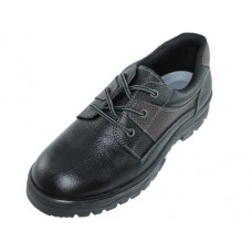 "N4107- ""Himalayans"" Men's Ankle Height Insulated Leather Shoes ( *Black Only )"