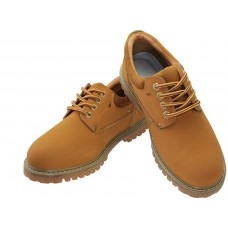 "N4210 - ""Himalayans"" Men Ankle Height Insulated Leather Upper Shoes ( *Beige Color ) *Last 4 Case"