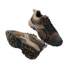 "N5107 - ""Himalayans"" Men Hiker Ankle Height Insulated Leather Sneakers ( * Black  Color ) *Last 2 Case"