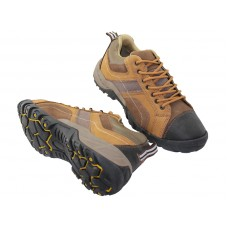 "N5210 - ""Himalayans"" Men Hiker Ankle Height Insulated Leather Sneakers ( *Brown Color )"